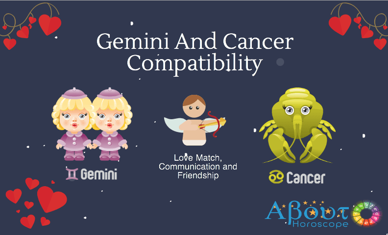 cancer and gemini work relationship