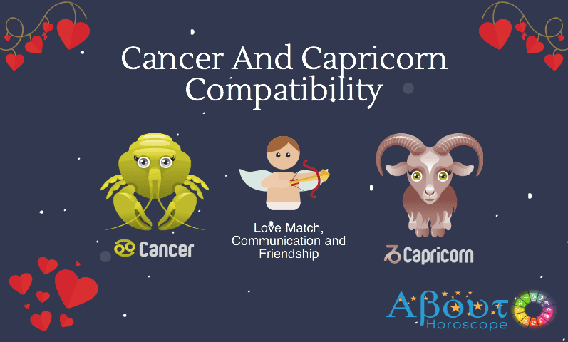 Cancer and Capricorn zodiac signs compatibility