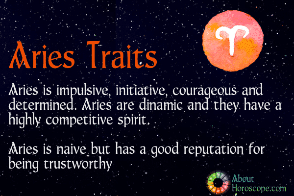 Aries Traits, Personality And Characteristics