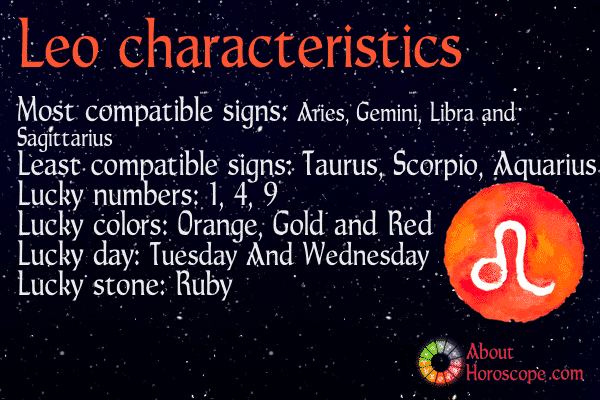 Leo traits personality and characteristics for Best star sign for leo