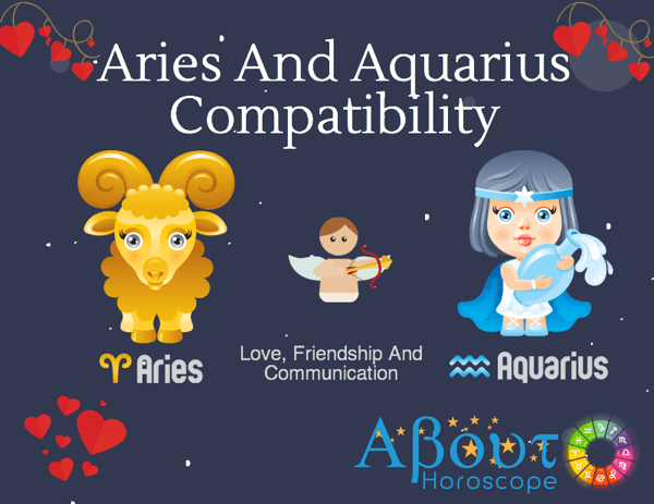 Aries male with aquarius female