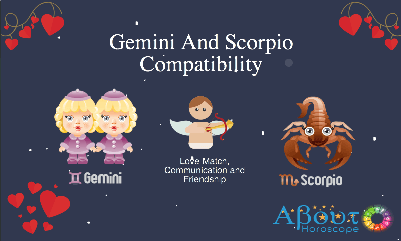 Gemini ♊ And Scorpio ♏ Compatibility, Love & Friendship