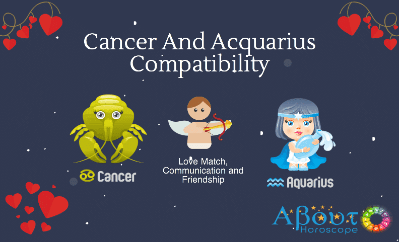 Cancer ♋ And Aquarius ♒ Compatibility, Love And Friendship