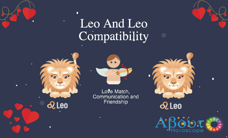 Leo and leo friendship