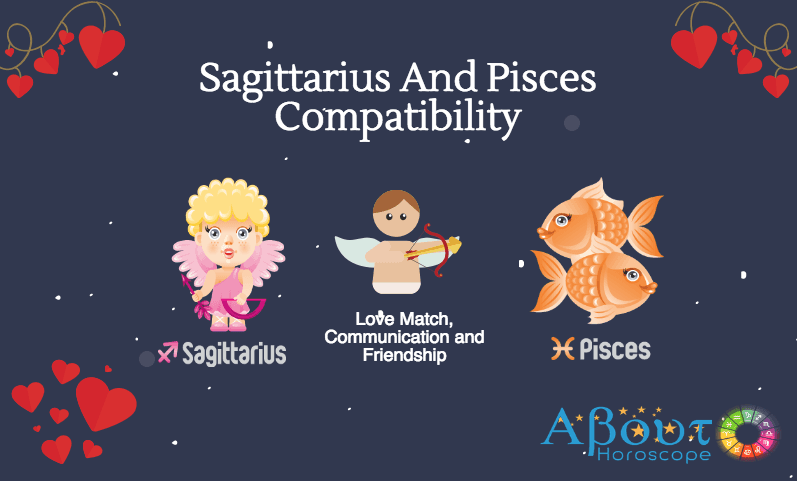 Sagittarius ♐ And Pisces ♓ Compatibility - Love Match